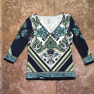 Talbots top. Size P. Excellent used condition.
